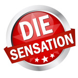 "Button mit Banner "" DIE SENSATION """