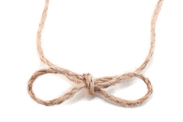 knot in the form of a bow