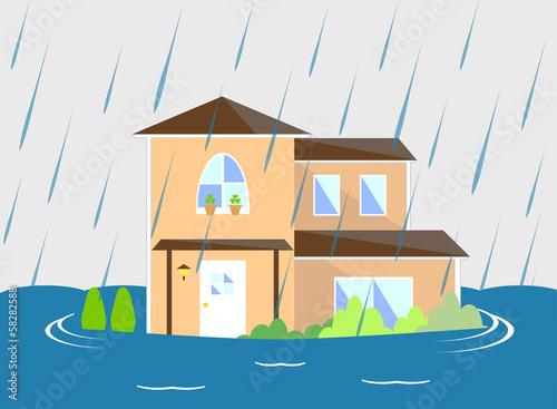 家  洪水