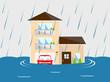 洪水 家 - 58282905