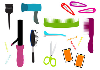 Hairdresser equipment set