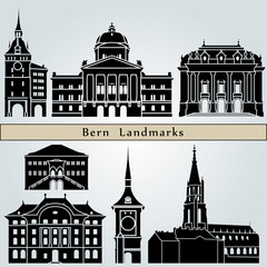 Bern landmarks and monuments