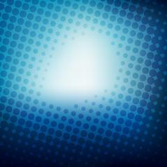 blue halftone design background vector