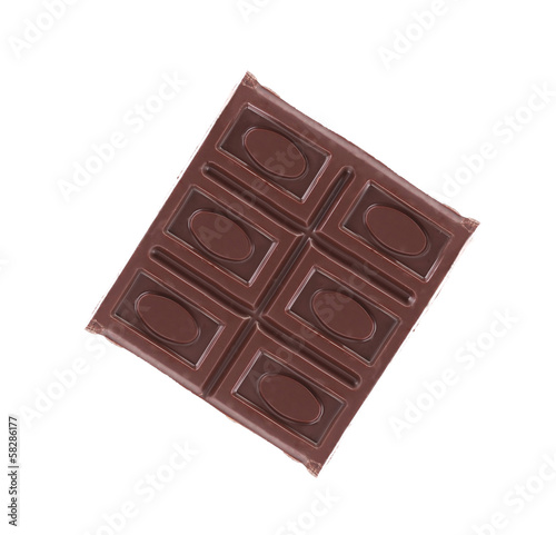 Close up of chocolate bar.