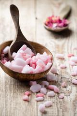 Homeopathic sea salt.