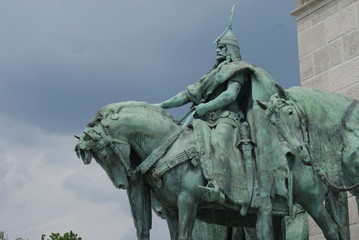 Arpad - Heroes Square - Budapest