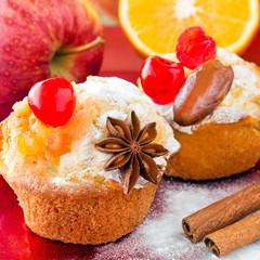 Weihnachten - Muffins