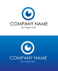 "Logo ""Eye in lens""/ Логотип ""Глаз в объективе"""