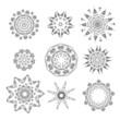 Set of arabesque ornament for your design