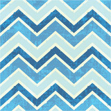 Chevron pattern in blue