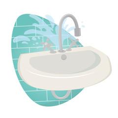waschbecken kaputt wasserhahn tropfen