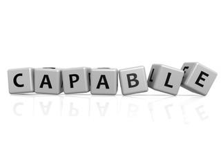 Capable buzzword