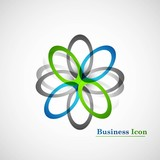 Business icon vector element white background