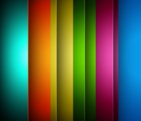 abstract bright colorful rainbow line wave technology vector