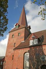 Otterndorf: Pfarrkirche St. Severus (um 1300, Niedersachsen)