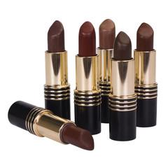 Close-up of assorted lipsticks