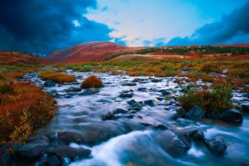 mountain river tundra