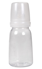 Close-up of a baby bottle