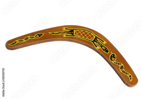 Poster Close-up of a boomerang