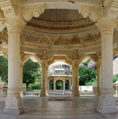 Memorial grounds to Maharaja Sawai Mansingh II and family, Jaipu
