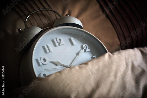 Sleeping alarm clock