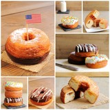 Collage of cronuts