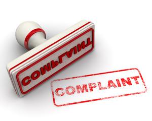 Complaint (претензия). Печать и оттиск