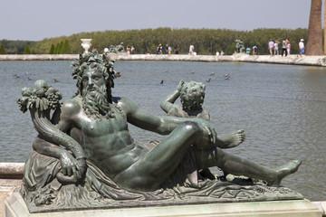 Statue à versaille