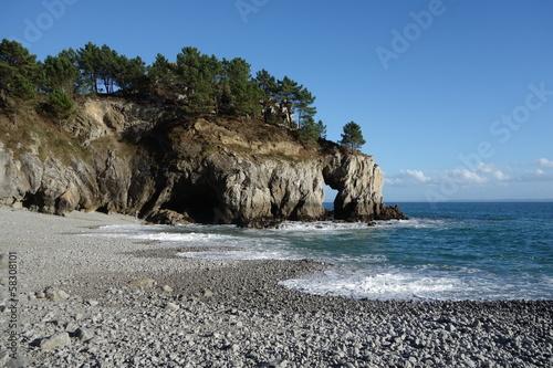 Fototapeten,meer,strand,landschaft,bretagne