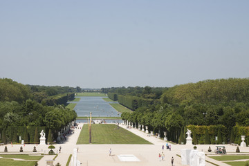 Vue des Jardins de Versaille