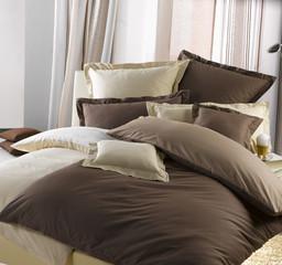 Bettwäsche braun/beige