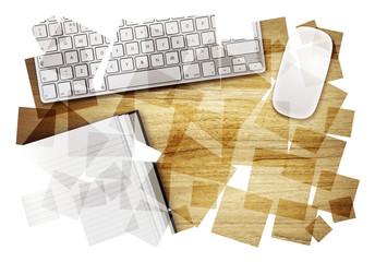 desktop abstract