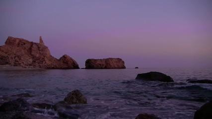 playa rijana al amanecer