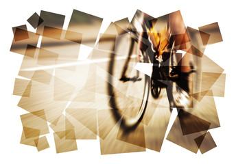 graphic road bike blur