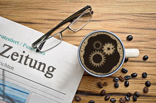 Kaffee Zahnräder