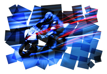 motorcyclist abstract