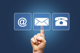 Kontakt - Email - Telefon - Handy - Brief