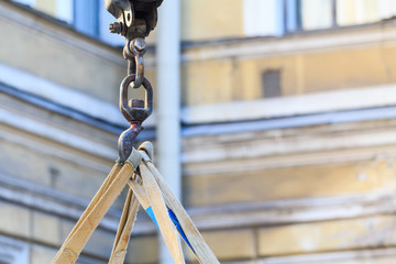 Steel construction hook