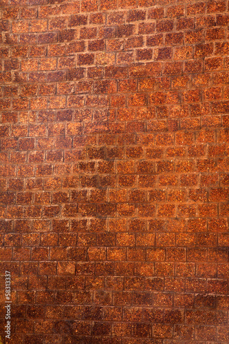 Wall of a building, Panjim, Goa, India