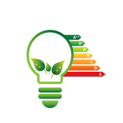 Eco bulb with energy class