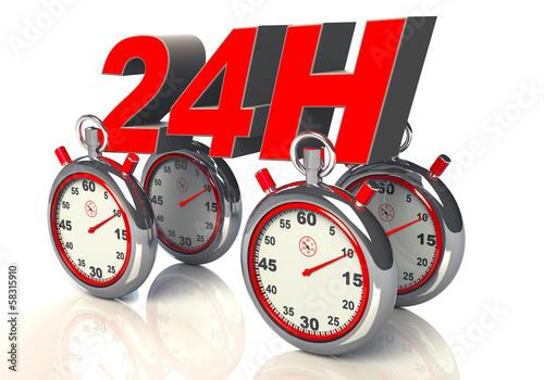 24 H Tag und Nacht