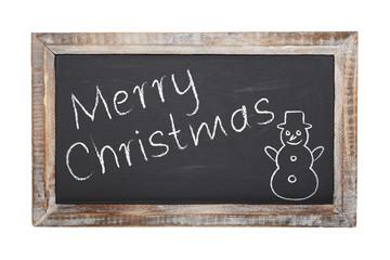 Schultafel - Merry Christmas (II)
