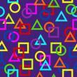 kacheln kreise, vierecke dreiecke III