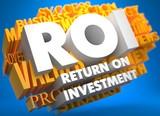 ROI. Business Concept.