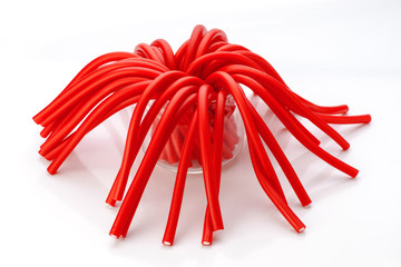 soft sticks tangle colored licorice
