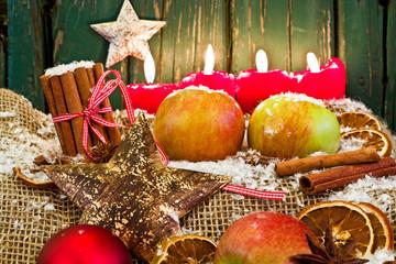 4. Advent, Weihnachtsdekoration