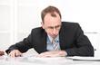 Burnout - Manager frustriert und gestresst