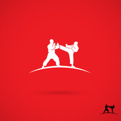 Martial arts fighters sign