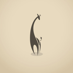 Giraffe sign