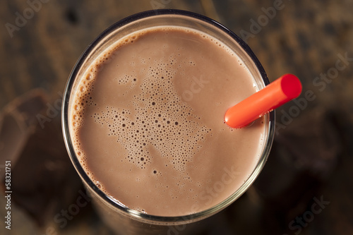 Refreshing Delicious Chocolate Milk - 58321751